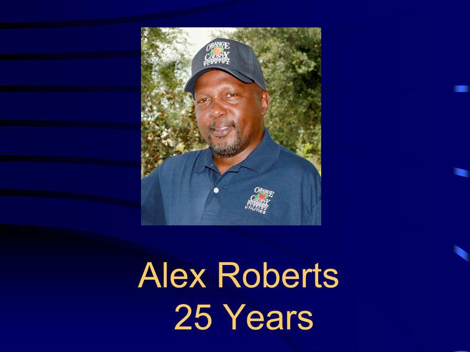 Alex Roberts 25 Years