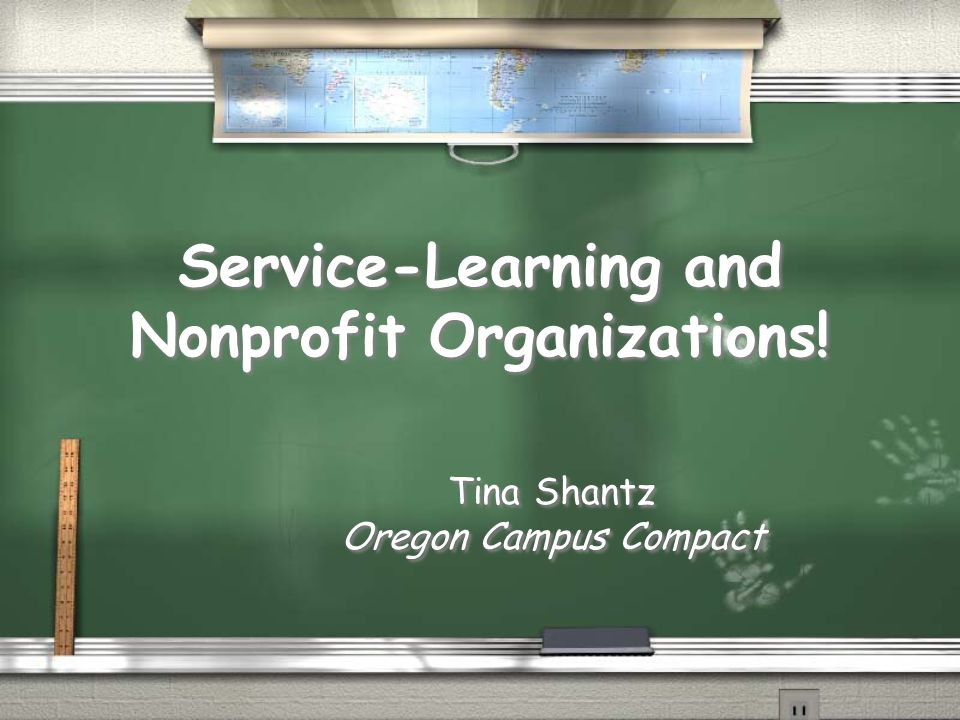 Service-Learning and Nonprofit Organizations.