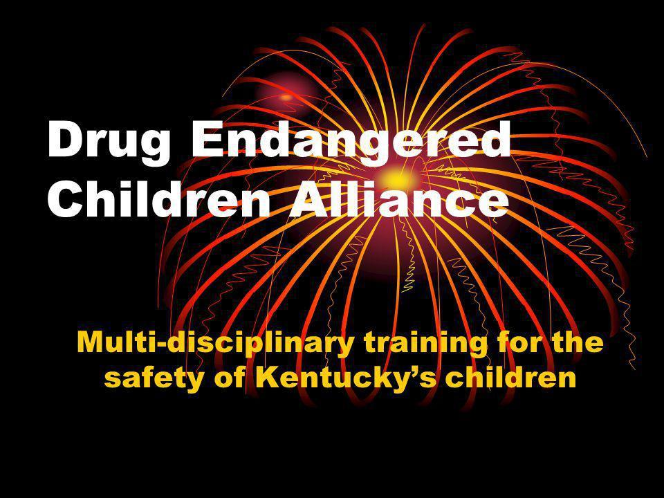 Drug Endangered Children Alliance Multi-disciplinary training for the safety of Kentucky's children