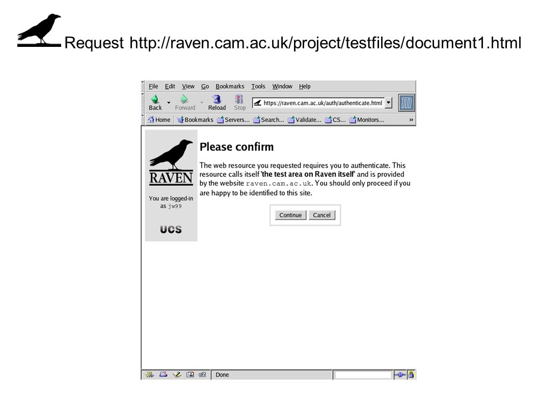 Request http://raven.cam.ac.uk/project/testfiles/document1.html