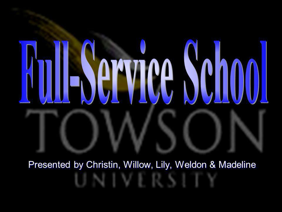 Full-Service School Conclusion Application Approach Definition