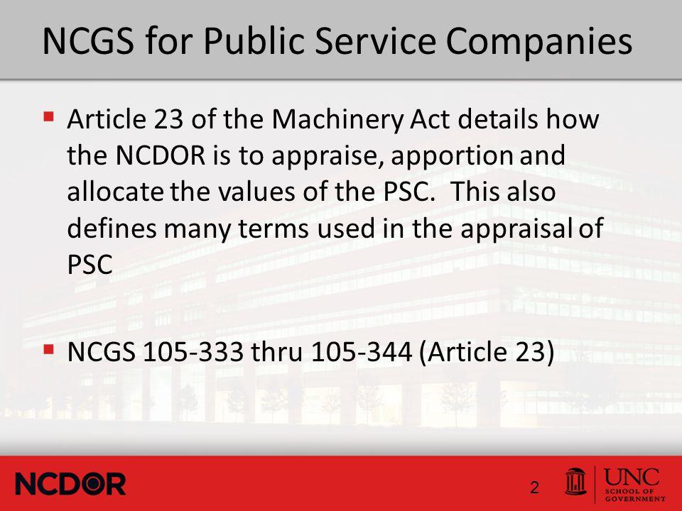 Who are the Public Service Companies.