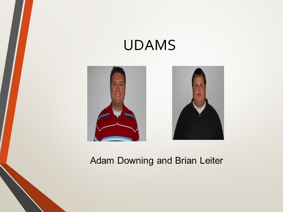 UDAMS Adam Downing and Brian Leiter