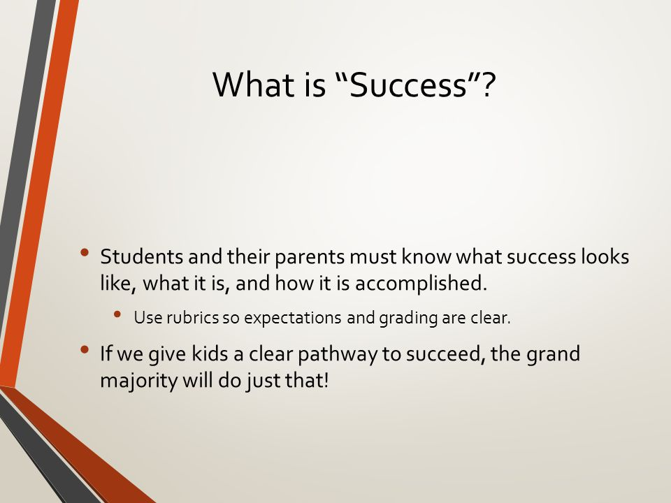 What is Success .
