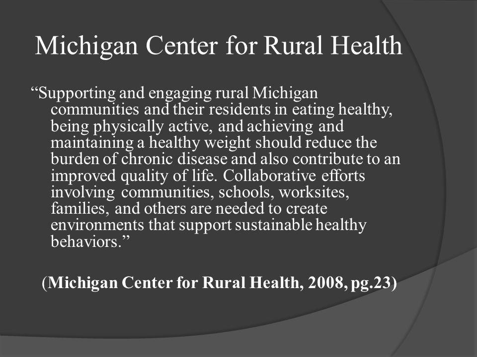 Plan Increase the availability of preventative health resources and measures to citizens of Mecosta County to decrease the burden on current Health Ca