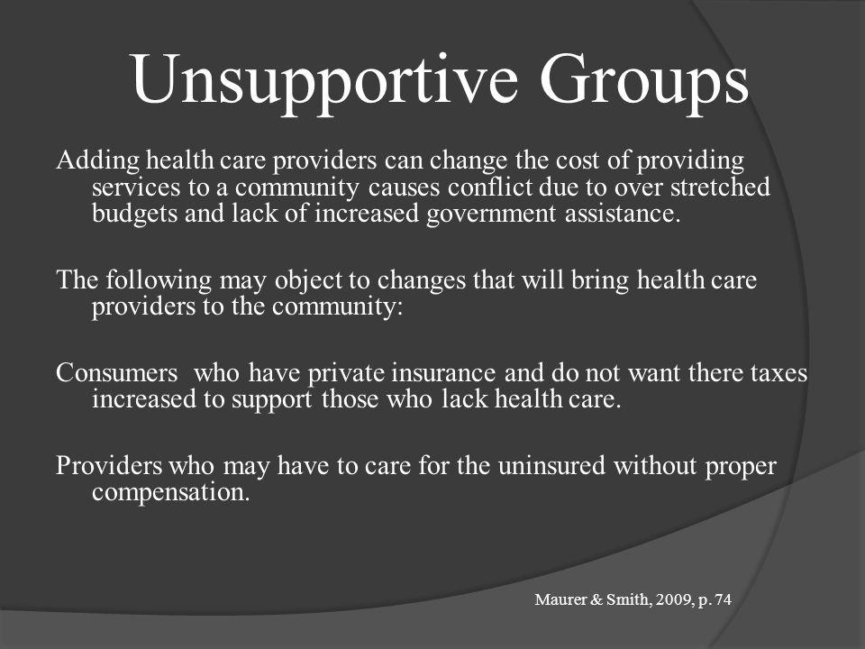 Recommendations Based on the provider responses, some possible ways to increase the supply of health care professionals in rural areas include: Increa