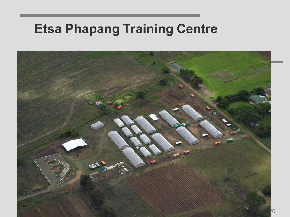 SU/IU Service-Learning Symposium Nov 200520 Etsa Phapang Training Centre
