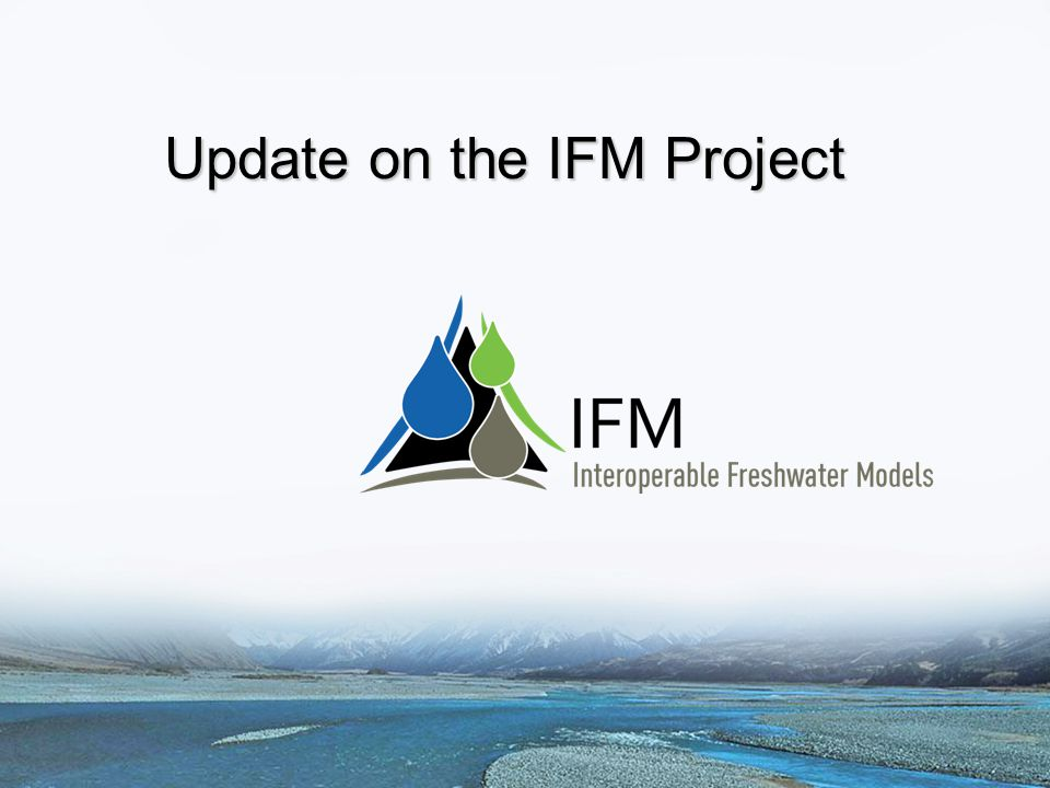 Update on the IFM Project
