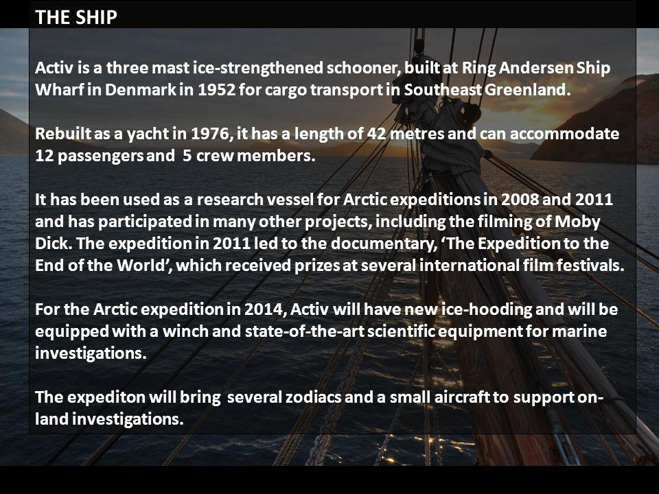 Activ on Greenland East coast