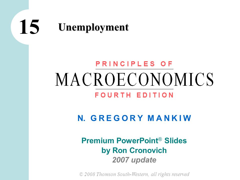 11 CHAPTER 15 UNEMPLOYMENT Labor Market Statistics for Other Groups, March 2007 All ages u-rateLF part.