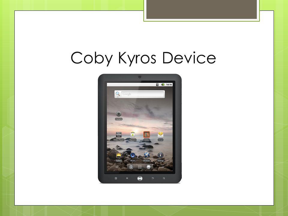 Coby Kyros Device