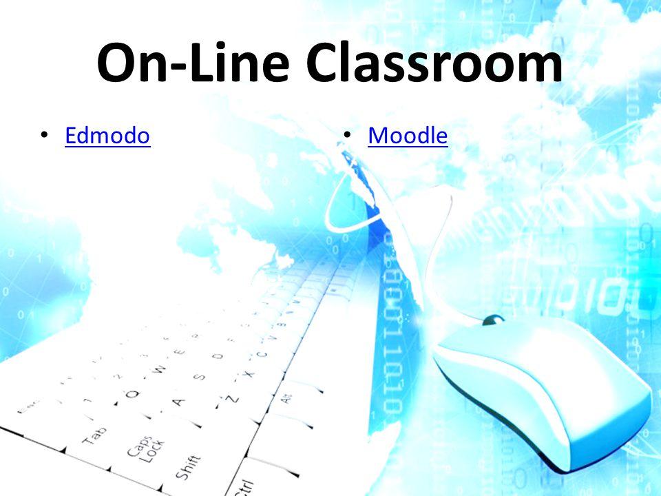 On-Line Classroom Edmodo Moodle