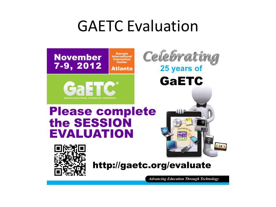 GAETC Evaluation