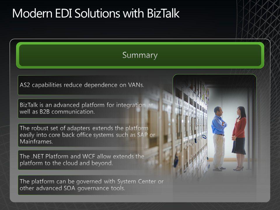 Modern EDI Solutions with BizTalk