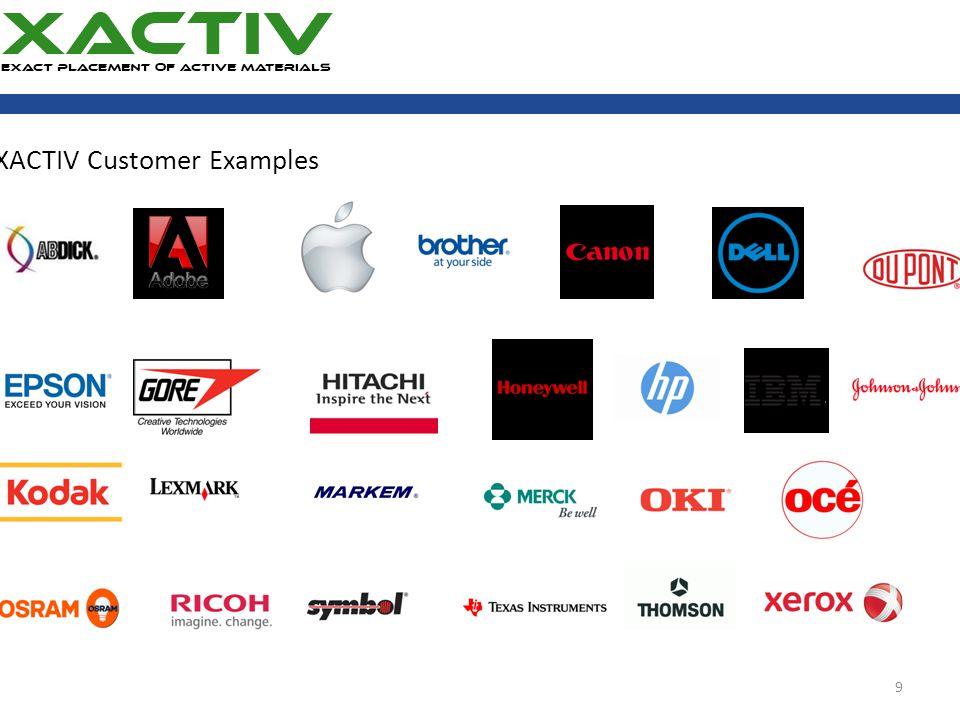 XACTIV Customer Examples 9