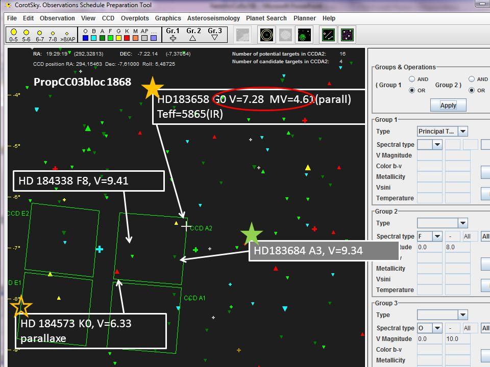 PropCC04 bloc 1869 HD168443 G5 V=6.92 MV=4.03(parall) Teff=5612(IR) WITH PLANET HD167591 A2, V=7.77 HD167833 A8, V=6.3 HD168392 A3, V=8.42