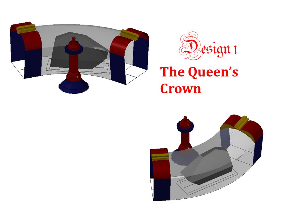 This design is inspired by the shape of a crown.