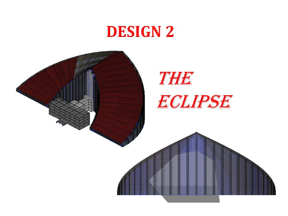  This design concept is a visualization of the 'Eclipse'.