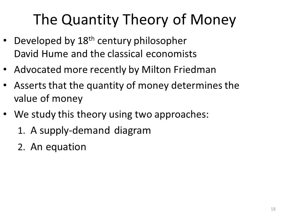 Money Supply (MS) In real world, determined by the Central Bank (e.g., the Fed), the banking system, consumers.