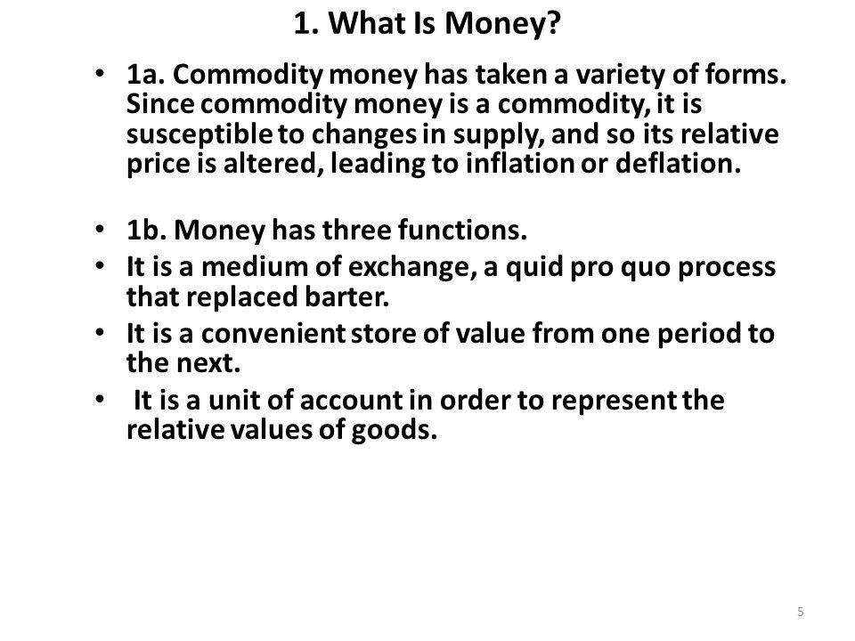 1.What Is Money. 1c.