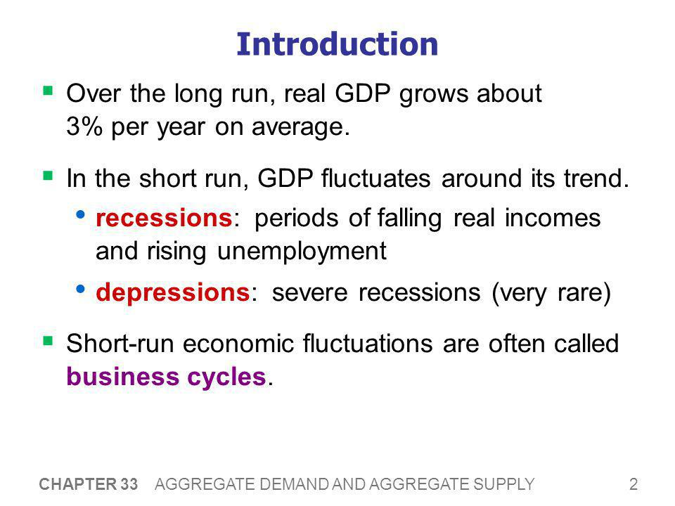 13 CHAPTER 33 AGGREGATE DEMAND AND AGGREGATE SUPPLY The Interest-Rate Effect (P and I )  Suppose P rises.