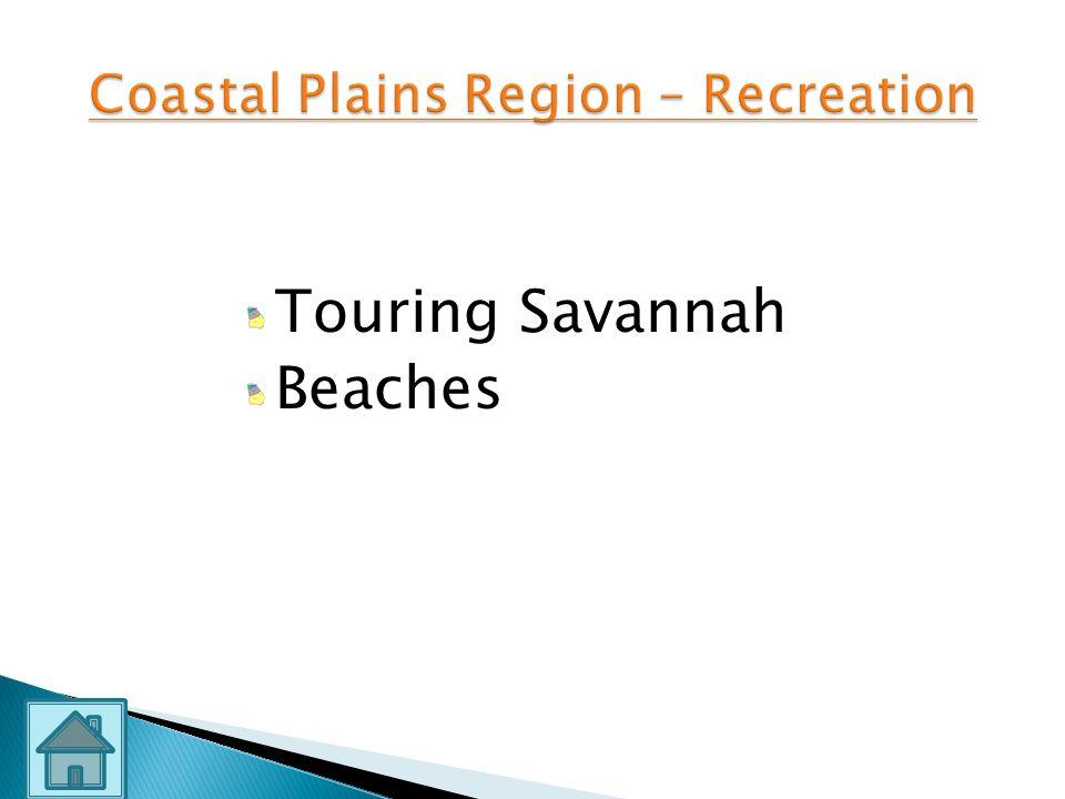 Mild Climate Reefs Beaches