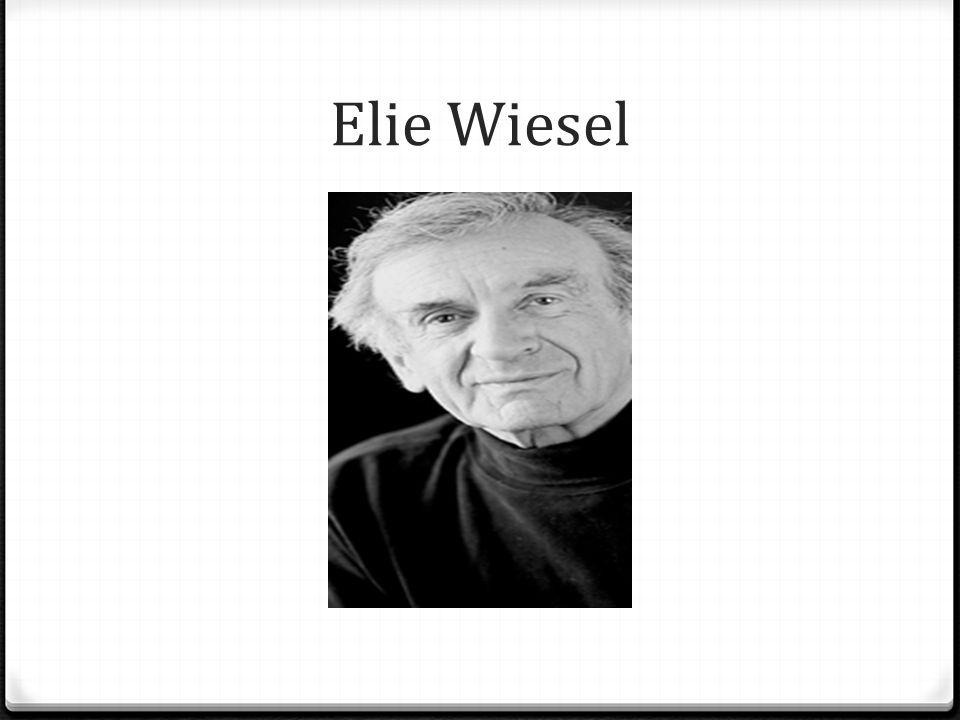 0 Wiesel was born in Sighet, Romania, on September 30, 1928.