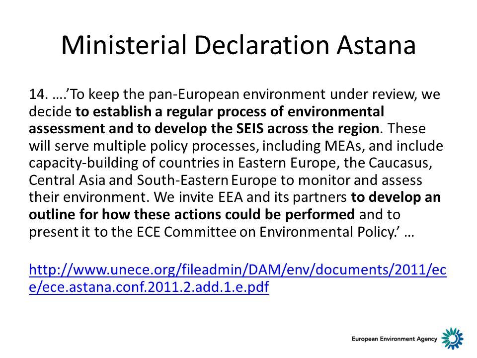 Ministerial Declaration Astana 14.