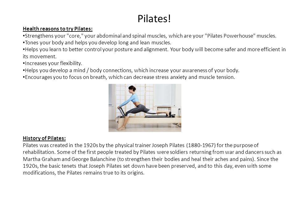 Pilates.