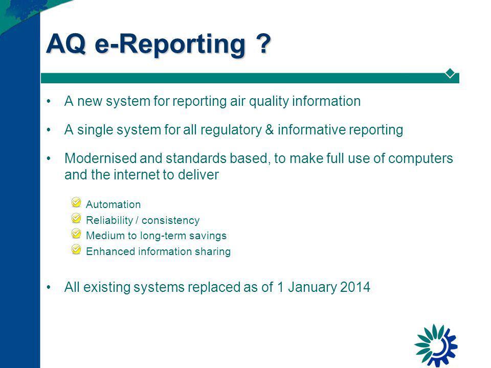 AQ e-Reporting .