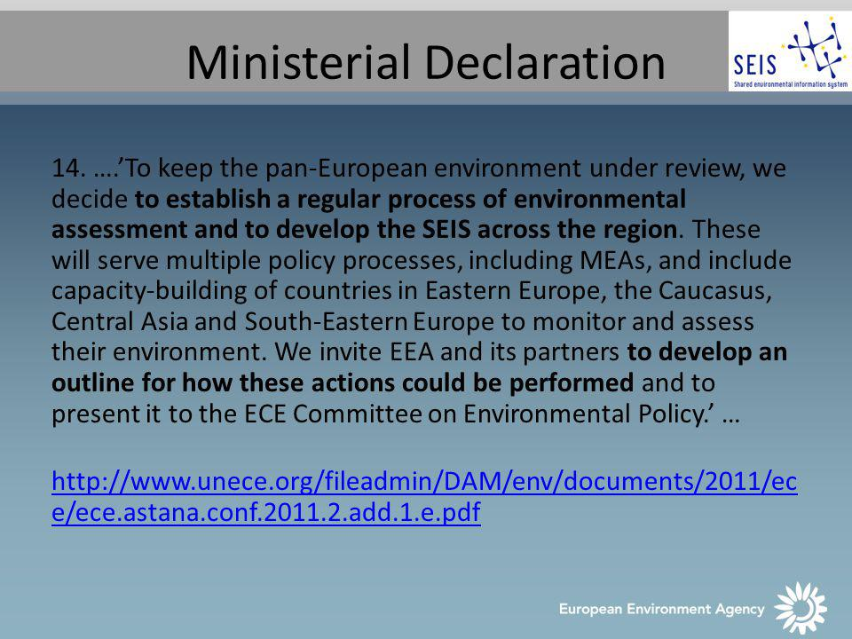 Ministerial Declaration 14.