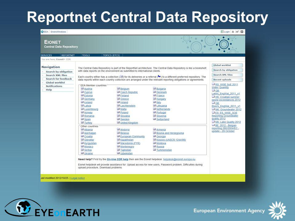 Reportnet Central Data Repository