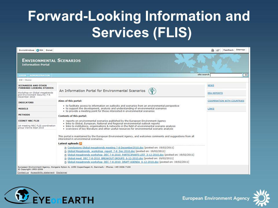 Forward-Looking Information and Services (FLIS)