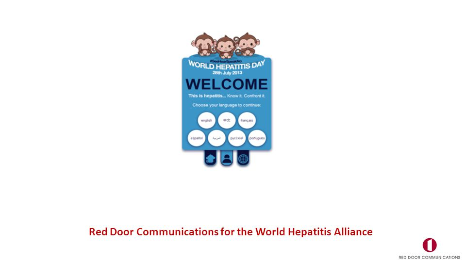 Red Door Communications for the World Hepatitis Alliance