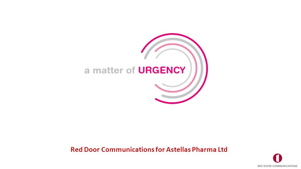 Red Door Communications for Astellas Pharma Ltd