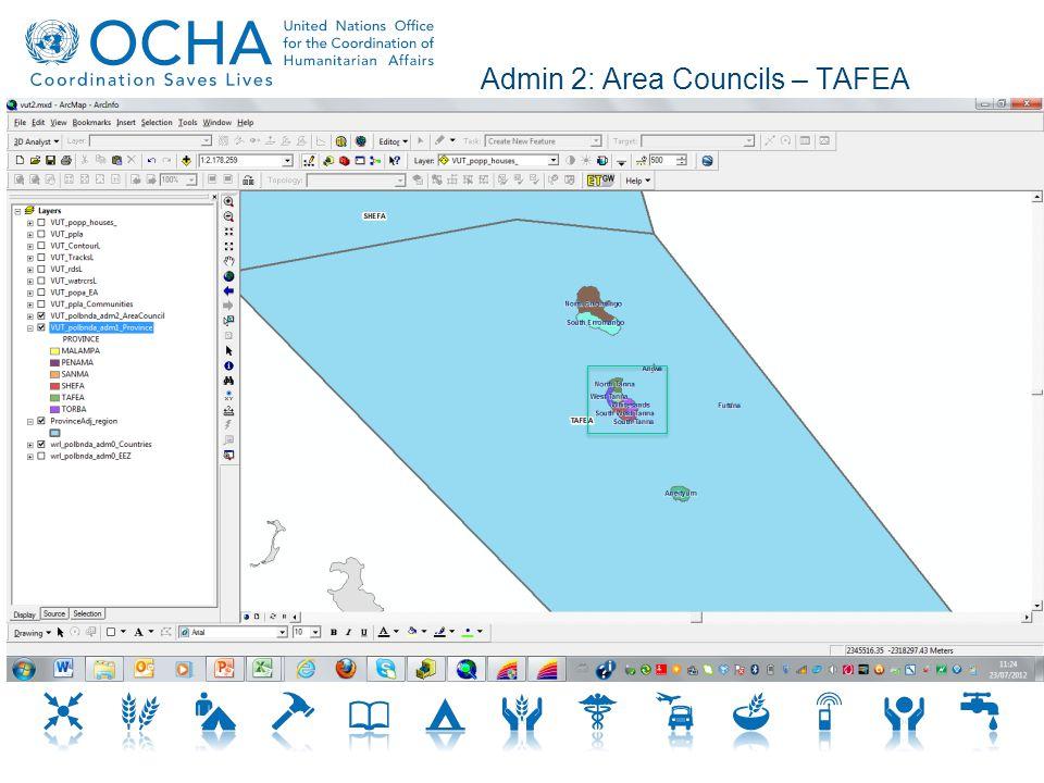 Admin 2: Area Councils – TAFEA