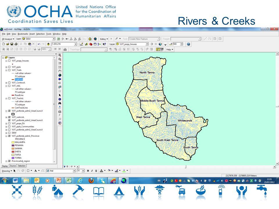 Rivers & Creeks