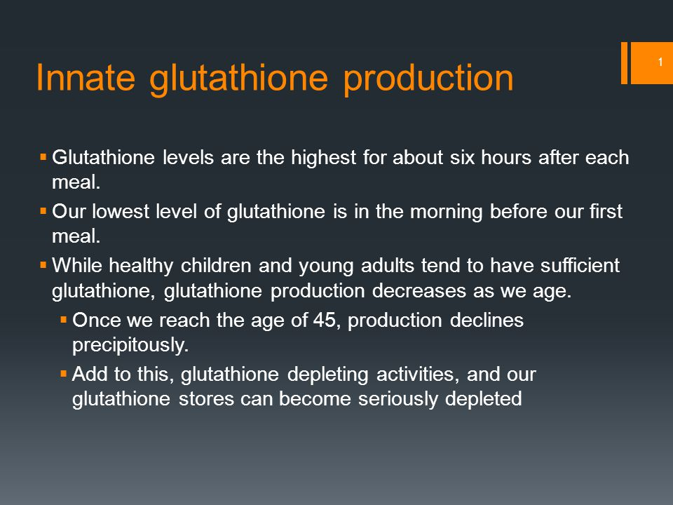 Dietary glutathione 2 Nutrient to IncreaseFood Sources GlutathioneAsparagus, spinach, garlic, avocado, squash, zucchini, potatoes, melons, grapefruit, strawberries, peaches SeleniumBrazil nuts, meat, seafood CyanohydroxybuteneBroccoli, cauliflower, Brussels sprouts, cabbage Alpha lipoic acidRed meat, organ meats, yeast (especially Brewer's yeast) RiboflavinSunflower seeds, spinach, avocado CysteineEggs, garlic, whey protein FlavonoidsTurmeric, cinnamon, cardamom