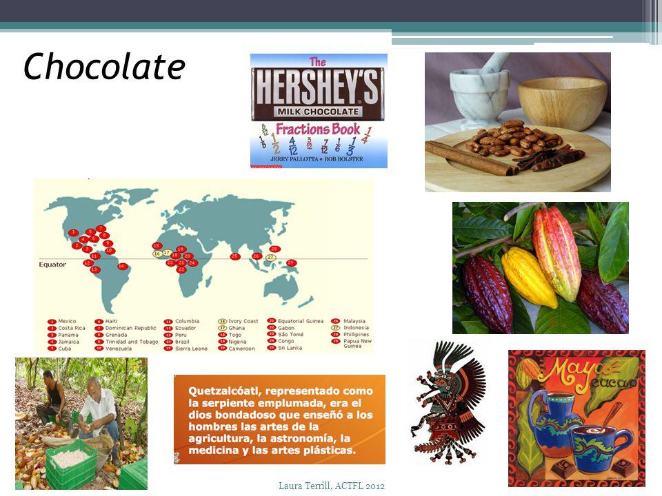 Chocolate Laura Terrill, ACTFL 2012