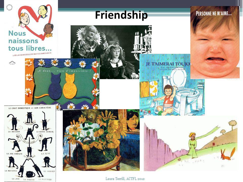 Friendship Laura Terrill, ACTFL 2012