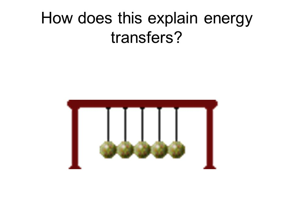 First Law of Thermodynamics Examples Light energy to chemical energy (from sun to sugar in a plant) Water behind a dam (potential) is released (kineti