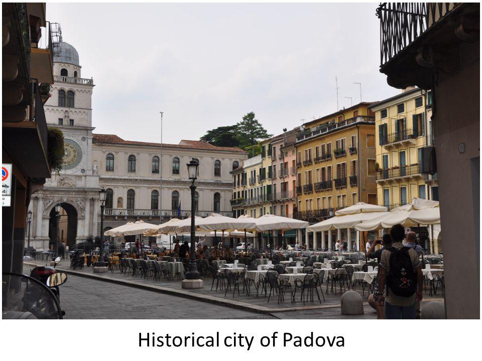 Historical city of Padova