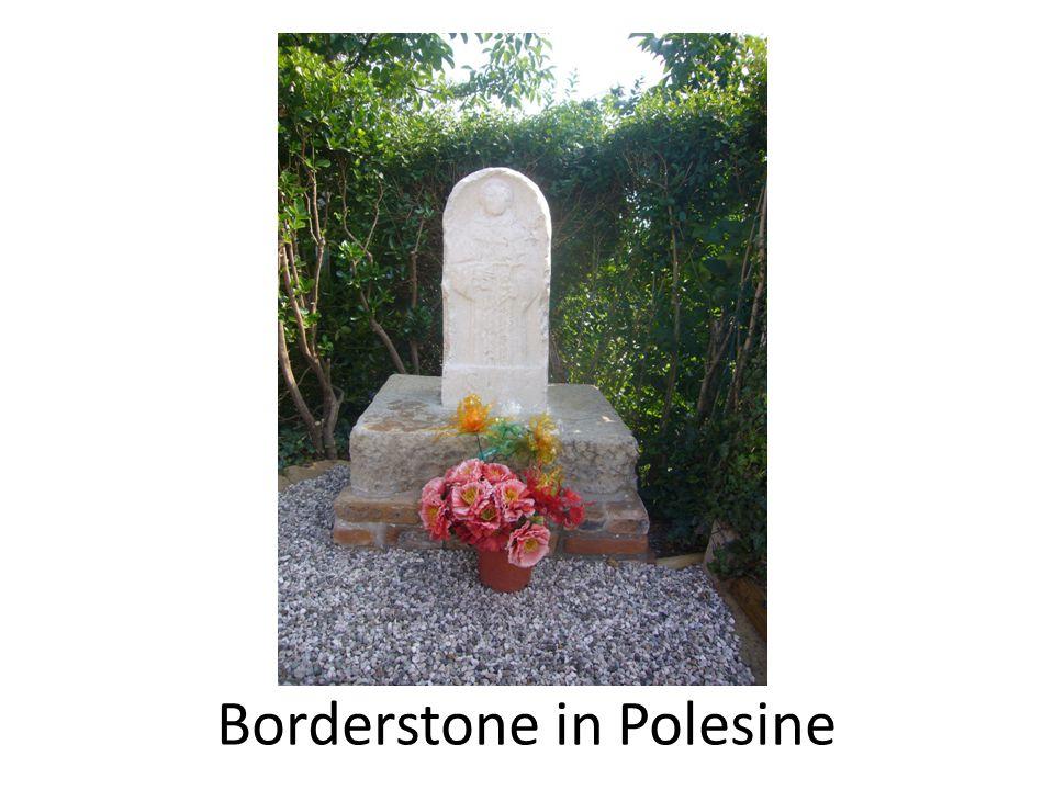 Borderstone in Polesine