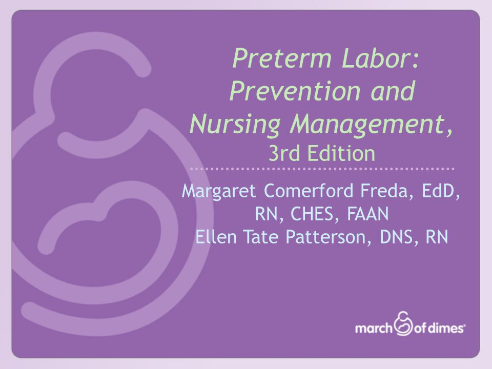 © 2004, March of Dimes Preterm Births, United States, 1981, 1991, 2001 From NCHS, 2002 Prepared by March of Dimes Perinatal Data Center, 2003