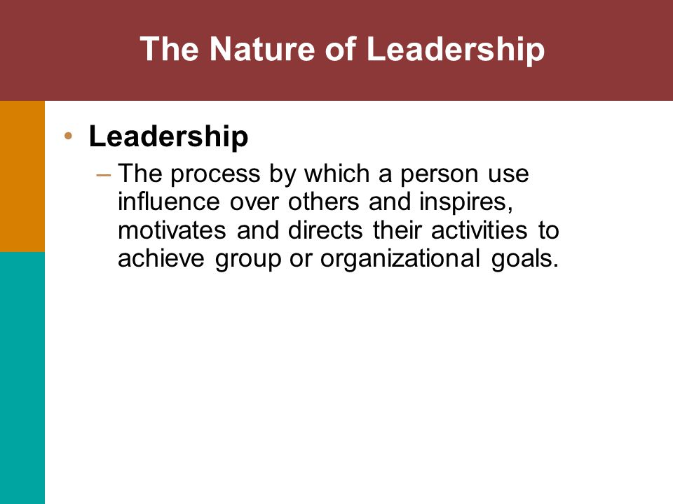 Power: The Key to Leadership Referent Power قوة الاقتداء والإعجاب : – Power that comes from coworkers' respect and loyalty – Possessed by managers who are likable and whom subordinates wish to use as a role model.