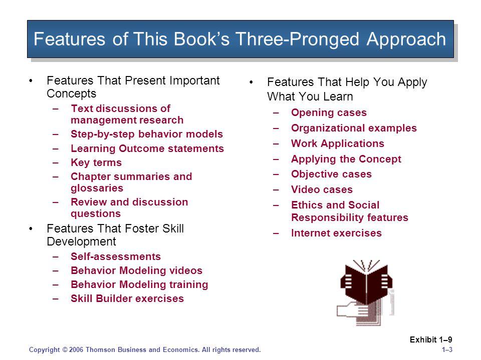 1–31–3Copyright © 2006 Thomson Business and Economics.