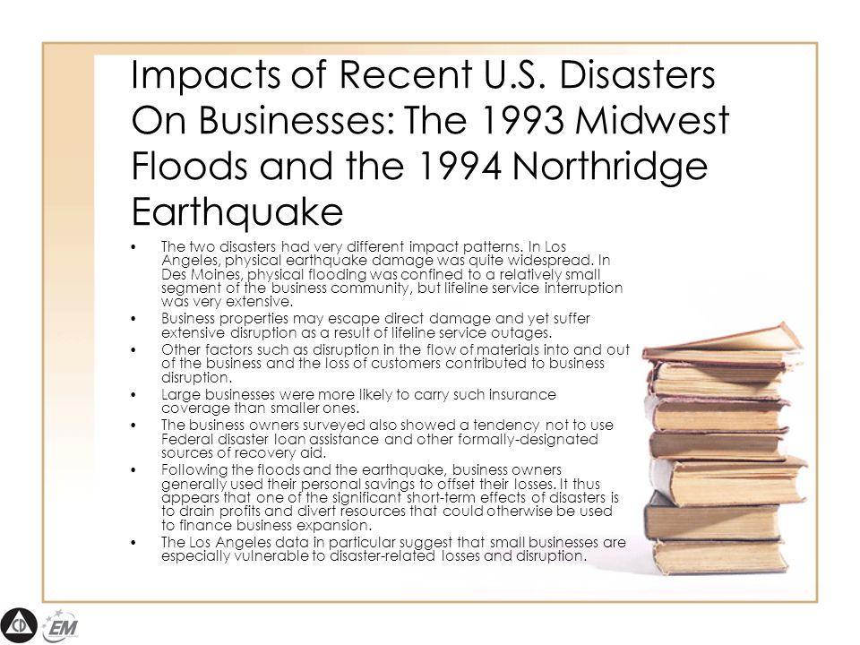 Impacts of Recent U.S.