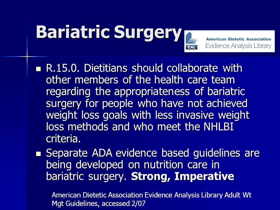 Bariatric Surgery R.15.0.
