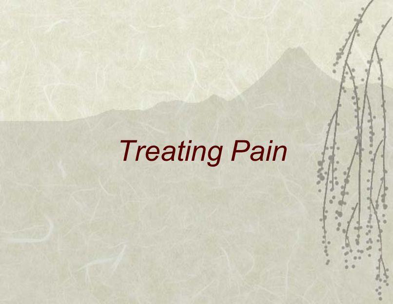 Treating Pain
