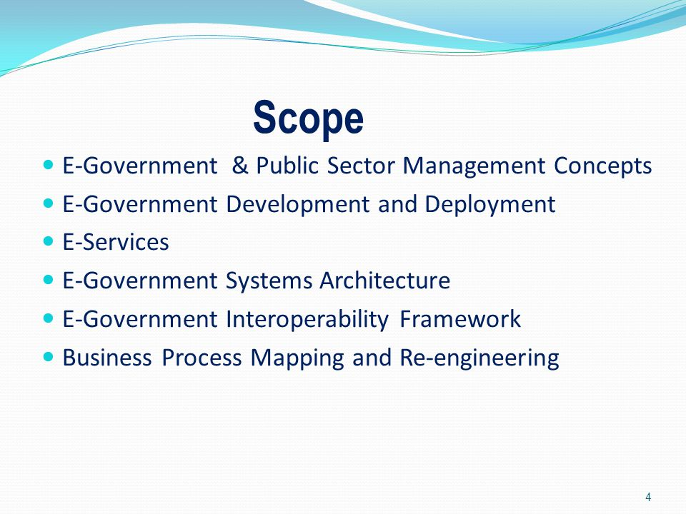 Public Sector Management and E-Governance 5